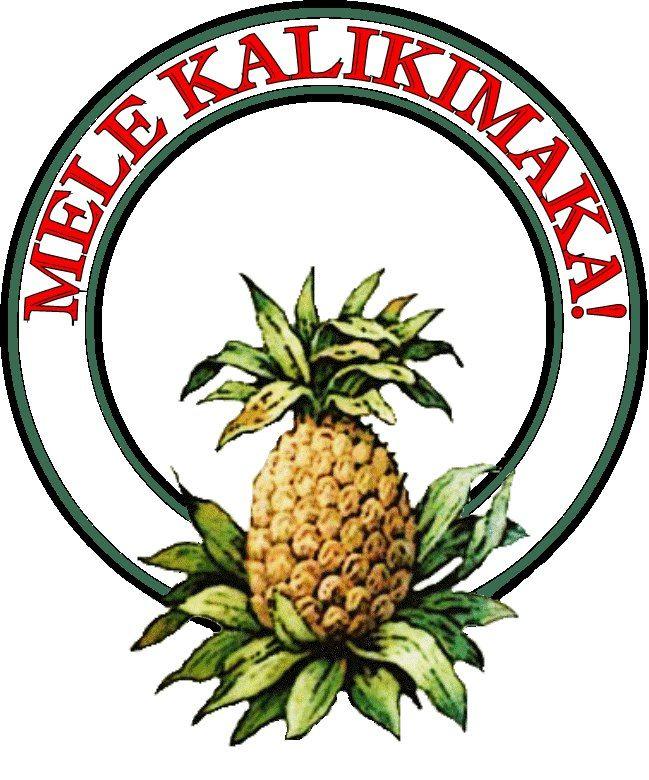 Mele Kalikimaka means Merry Christmas in Hawaiian its Christmas