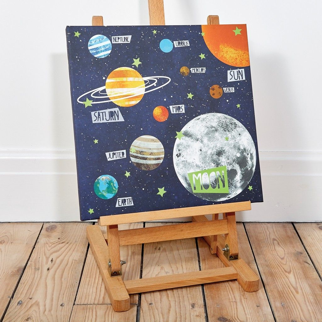 Universe Led Canvas Is The Perfect Gift Idea For Any 8 Year Old Kids Bedroom
