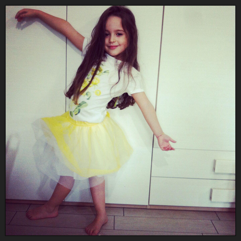 #babyballet #yellow #skirtbaby