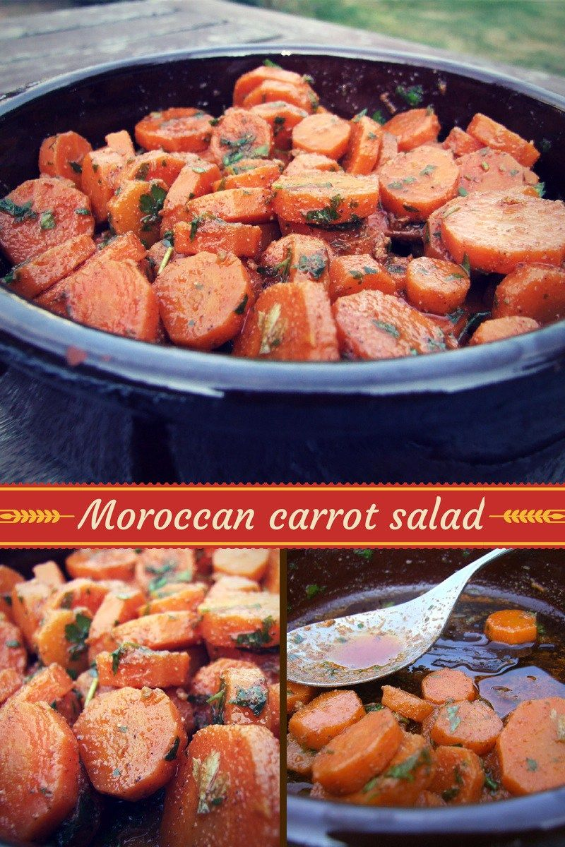 Moroccan Carrot Salad Recipe With Images Moroccan Carrots Moroccan Carrot Salad Carrot Salad
