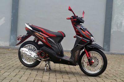 Modifikasi Motor Beat Lama 2010 2013 2014 Honda Bike