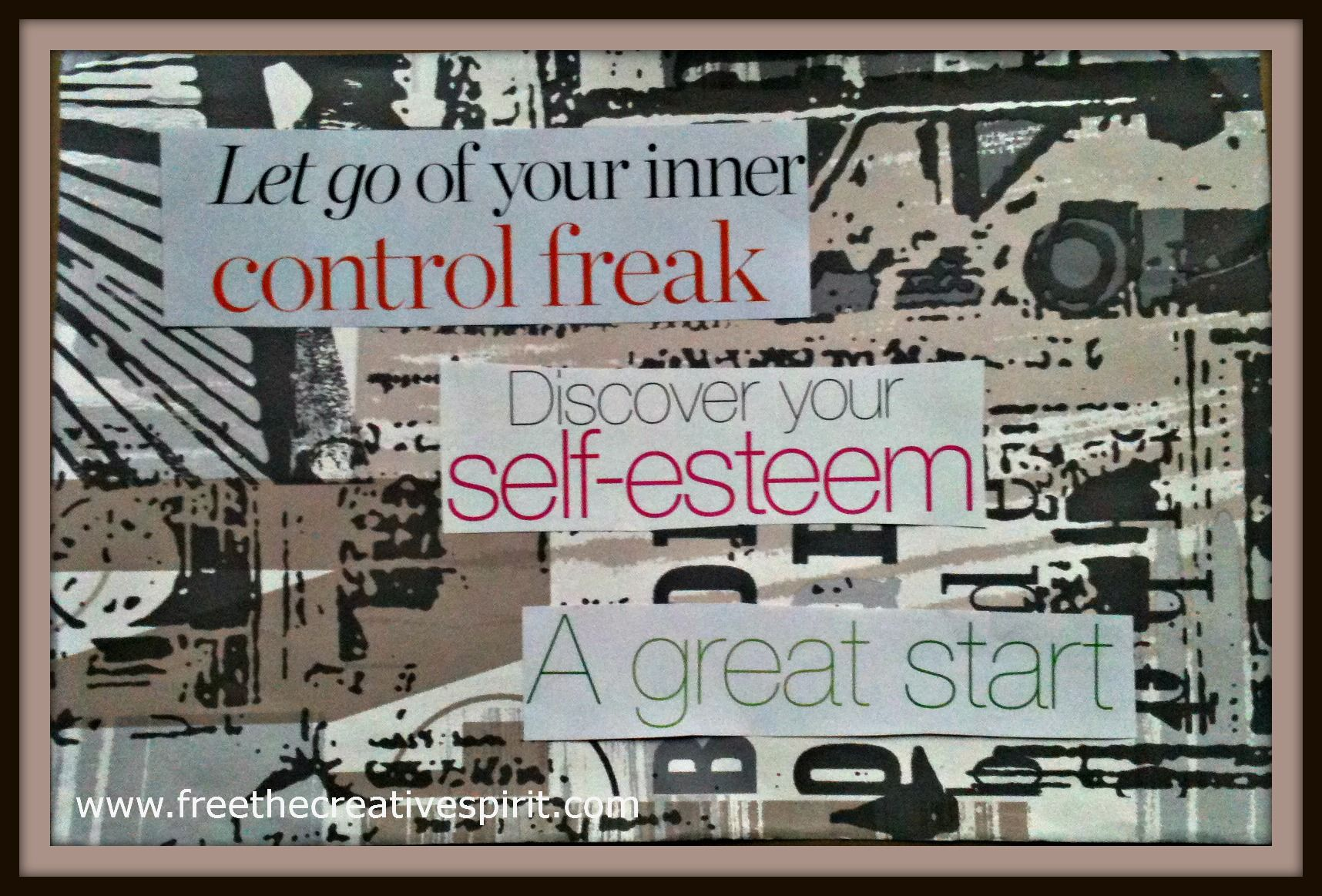 #10 Let go of your inner control freak.