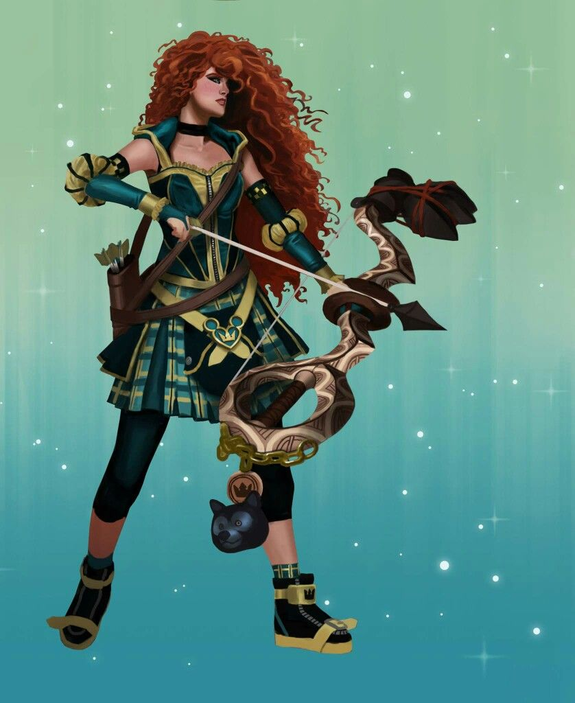 Disney Princess Merida Meets Kingdom Hearts | Cosplay ...