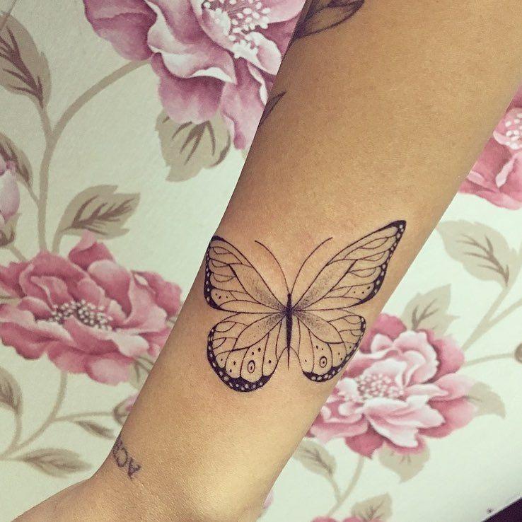Butterfly Tattoo Artist Gabriella Machado Tattoo Artist