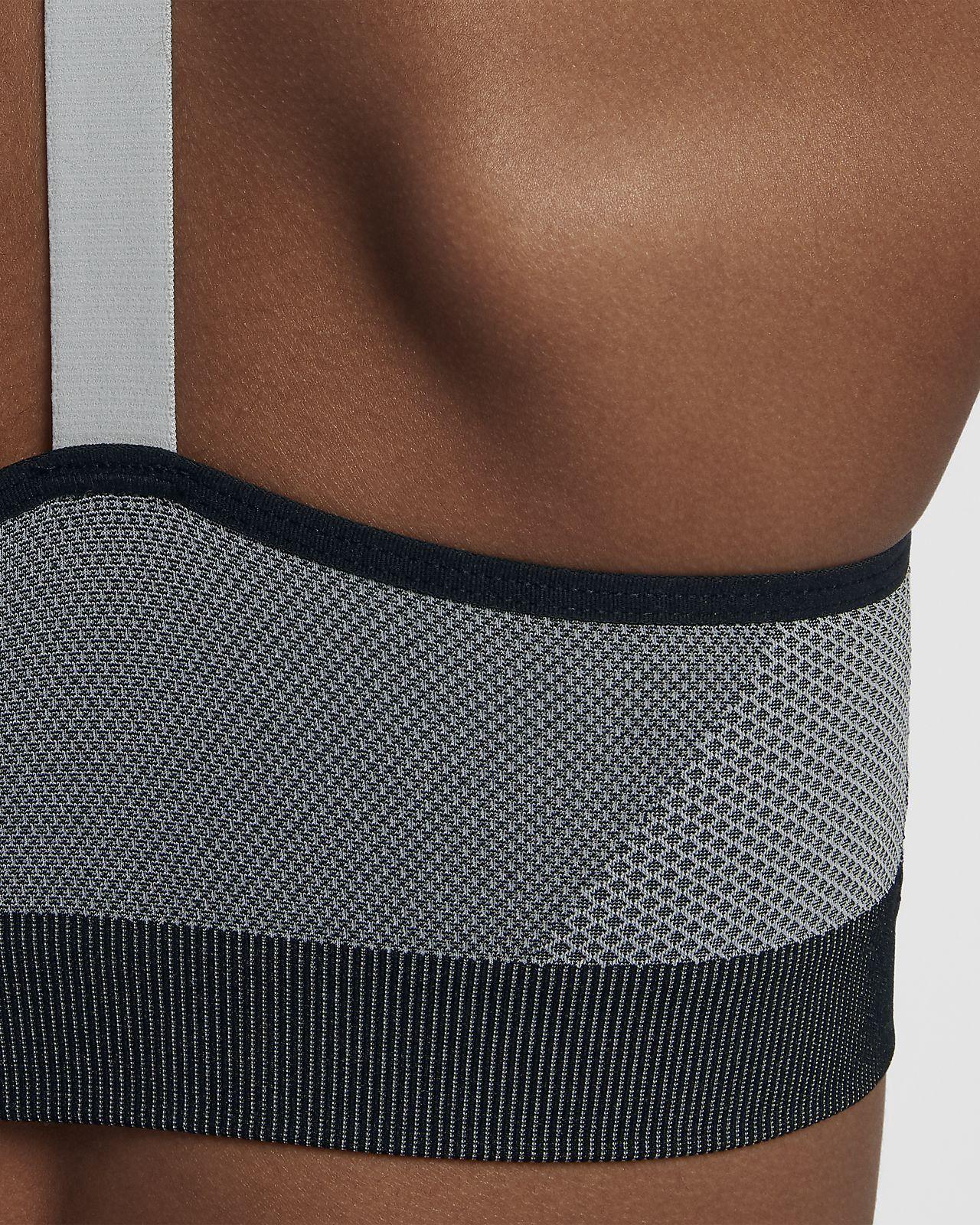 Nike Seamless Big Kids' (Girls') Sports Bra - M (10-12 ...