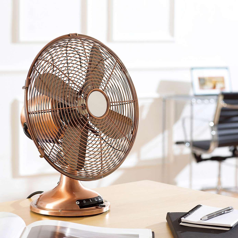 12 Inch Classic Desk Fan - Dunelm