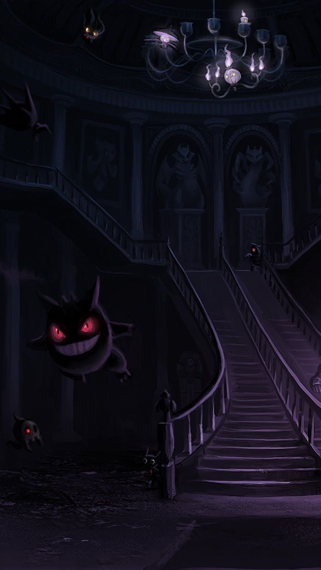Huge Collection Of Pokemon Phone Wallpapers Dark Pokemon Gengar Pokemon Ghost Pokemon
