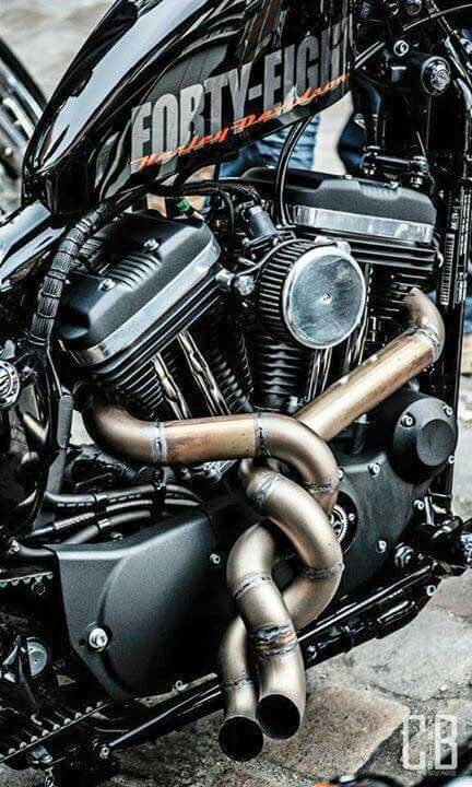 Harley Davidson Backfiring Through Exhaust