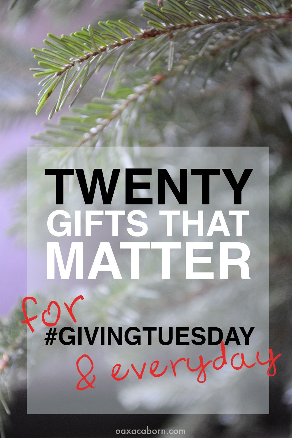 20 Charitable Christmas Gift Ideas That Make a Difference ...