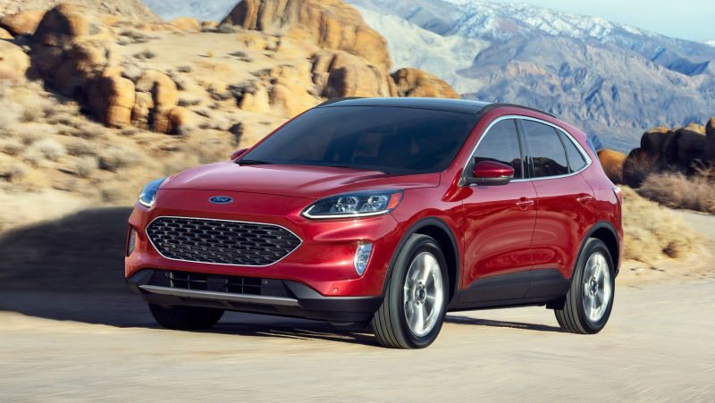 2020 Ford Escape Jalopnik Ford Escape Ford Fuel Efficient Suv