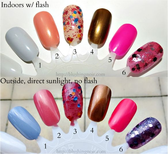 Ruby Wing Sweet Fantasy Nail Polish Collection Swatches Review Http Www