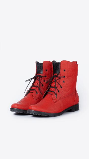 Bohema Weganskie Botki W Stylu Worker Boots Wykonane Ze Skory Z Ananasa Shoes Sneakers Fashion