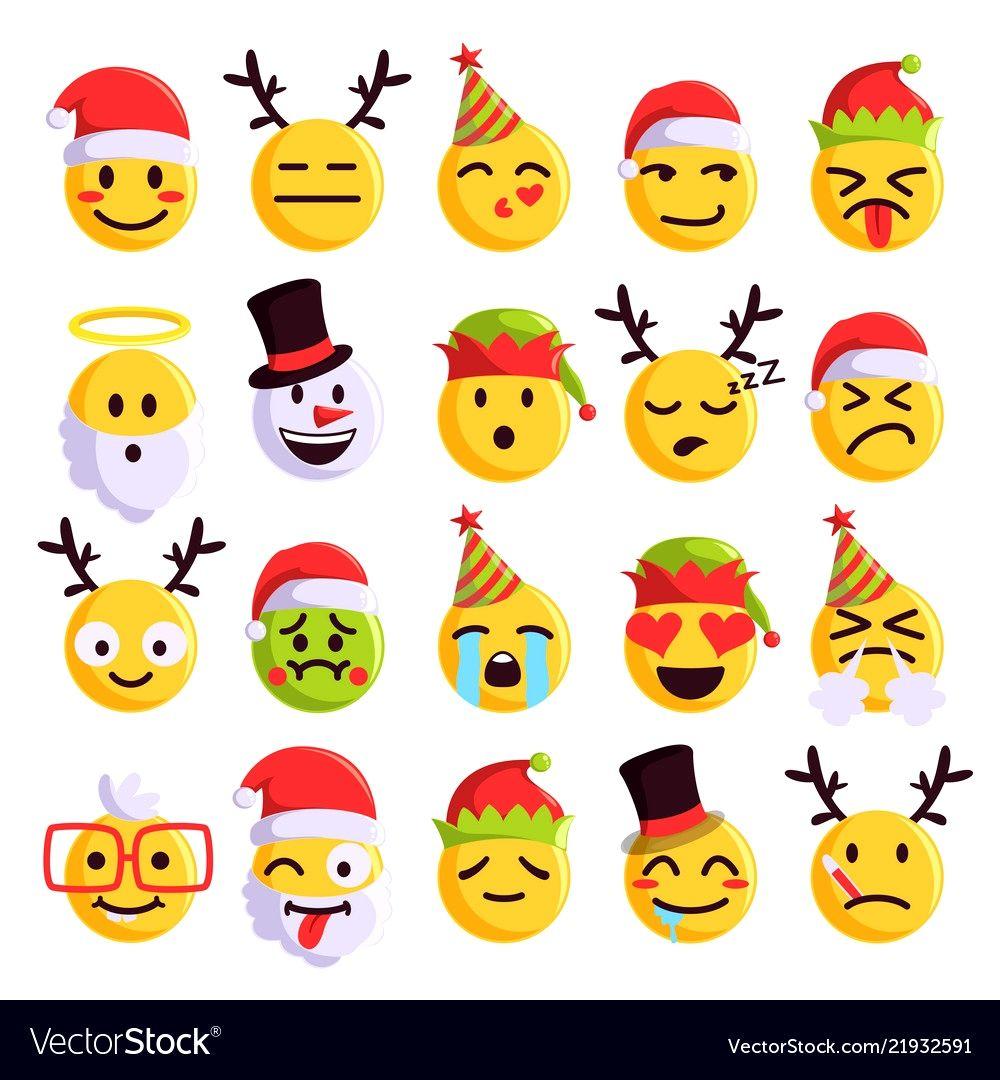 Free Christmas Emoji Trick Manualidades Escolares Manualidades Emoji