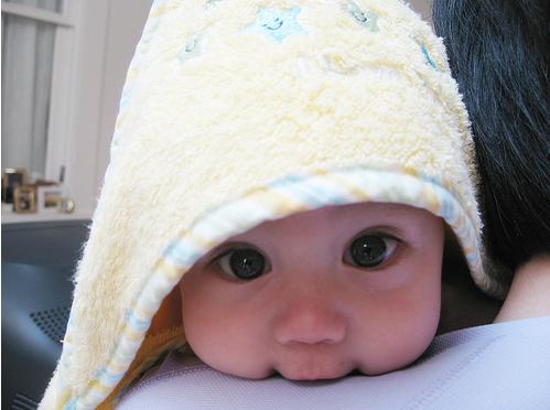 Babies always seem to make me smile!
