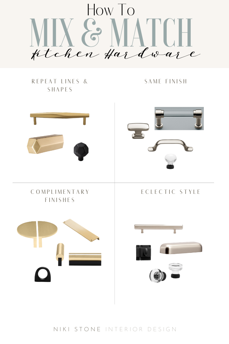 How to Mix & Match Cabinet Hardware How to mix and match ...