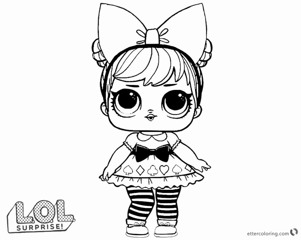 Lol Doll Printable Coloring Pages Fresh Lol Surprise Doll Coloring Pages Curious Qt Free Lol Dolls Coloring Pages For Girls Coloring Pages