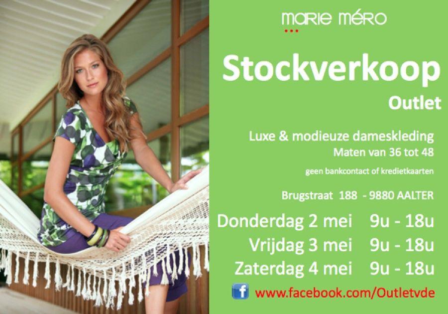 Marie mero stockverkoop -- Aalter -- 02/05-04/05