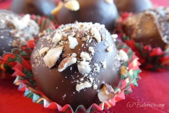The combination of peanut butter and chocolate is incredible, add to the fact that these are melt-in-your-mouth truffles makes them even better!
