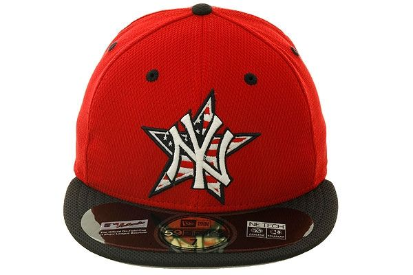 sale retailer a4d13 50614 2014 New York Yankees July 4th Stars   Stripes Fitted Hat by New Era