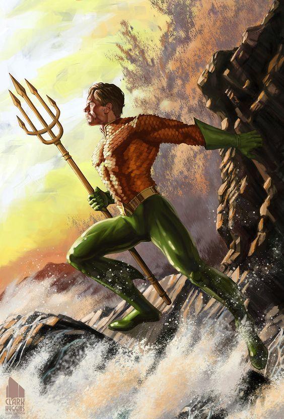 #Aquaman #Fan #Art. (AQUAMAN) By: Clarkushuggins. (THE * 5 * STÅR * ÅWARD * OF: * AW YEAH, IT'S MAJOR ÅWESOMENESS!!!™)[THANK U 4 PINNING!!!<·><]<©>ÅÅÅ+(OB4E)