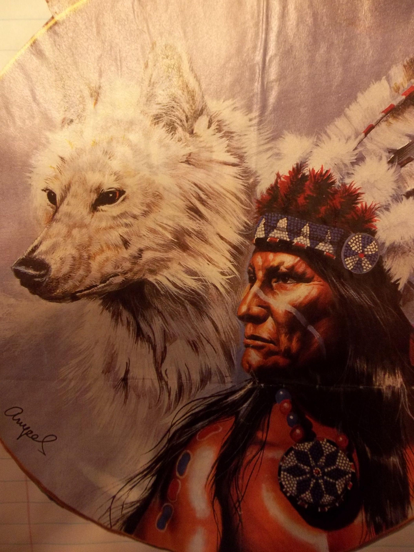 White Wolf | Native American #1 | Native american wolf