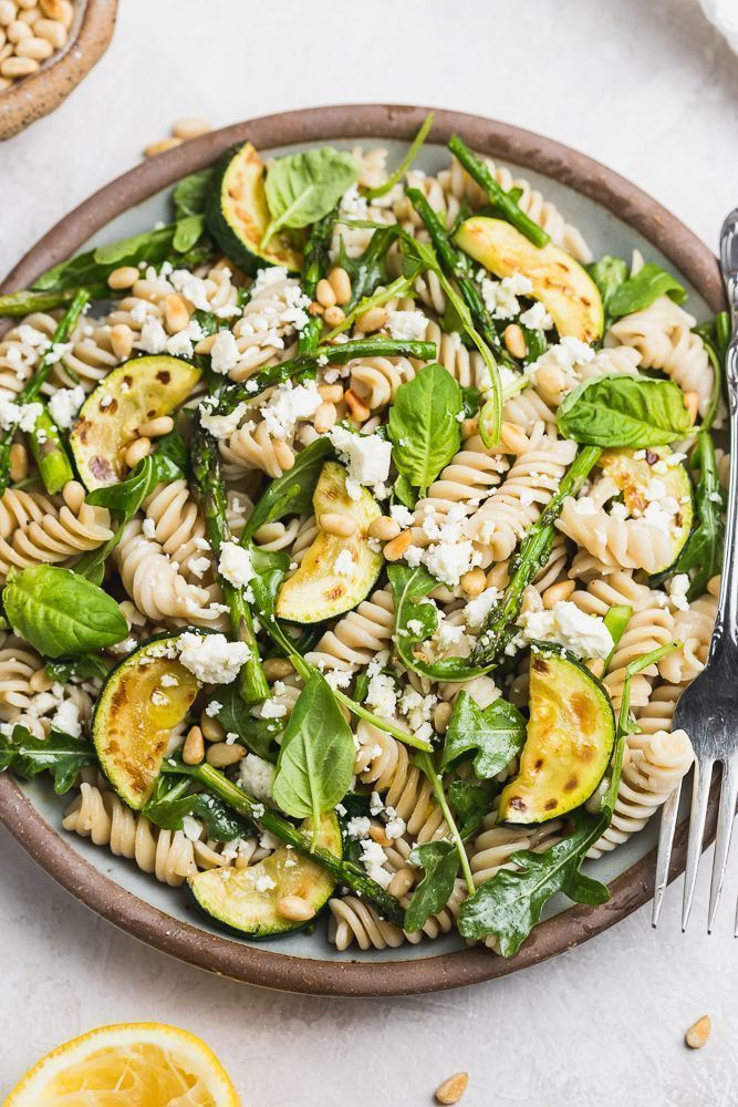 Lemony Spring Pasta Salad