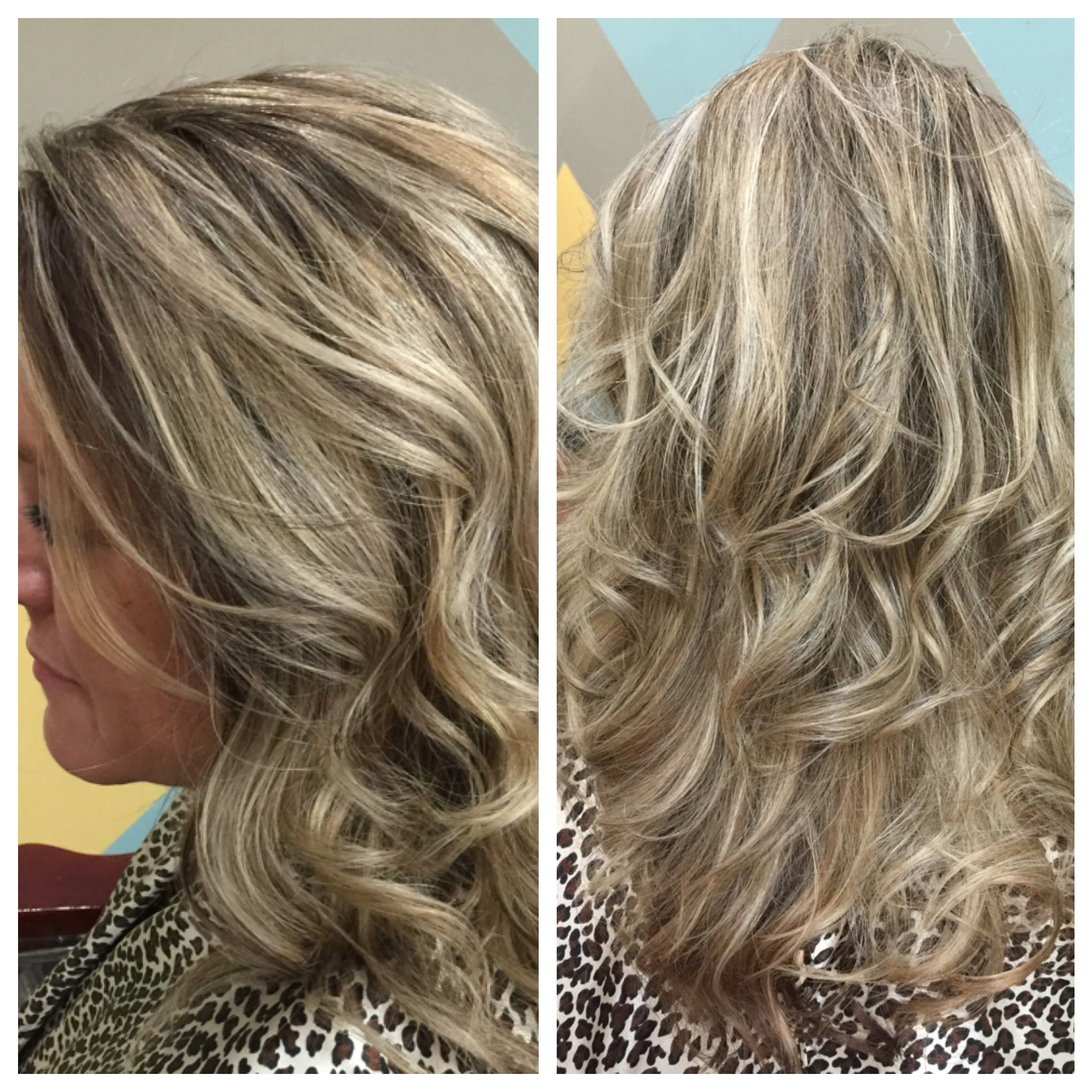 Hair by kristie chocolate blonde textures salon and tan