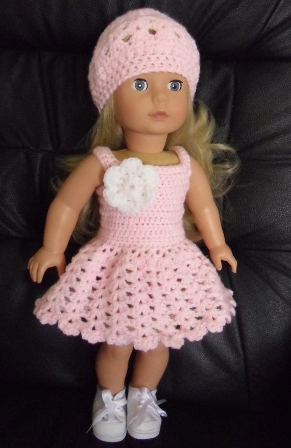 vestido rosa | Crochet and dolls | Pinterest | Vestido rosado ...