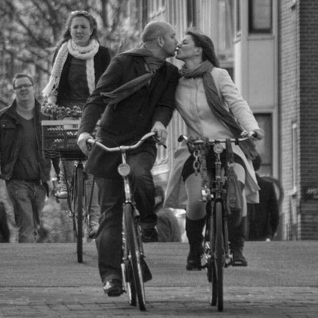 Liefde op de fiets