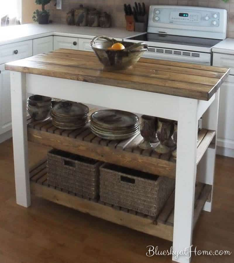 How To Turn A Console Table Into A Kitchen Island Bluesky At Home Kitchen Island Plans Home Kitchens Diy Kitchen Island