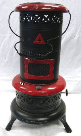 Kerosene Heater I Would Like To Find One Of These And Make It Into A Light For The Patio Oil Heater Kerosene Heater Stove Decor