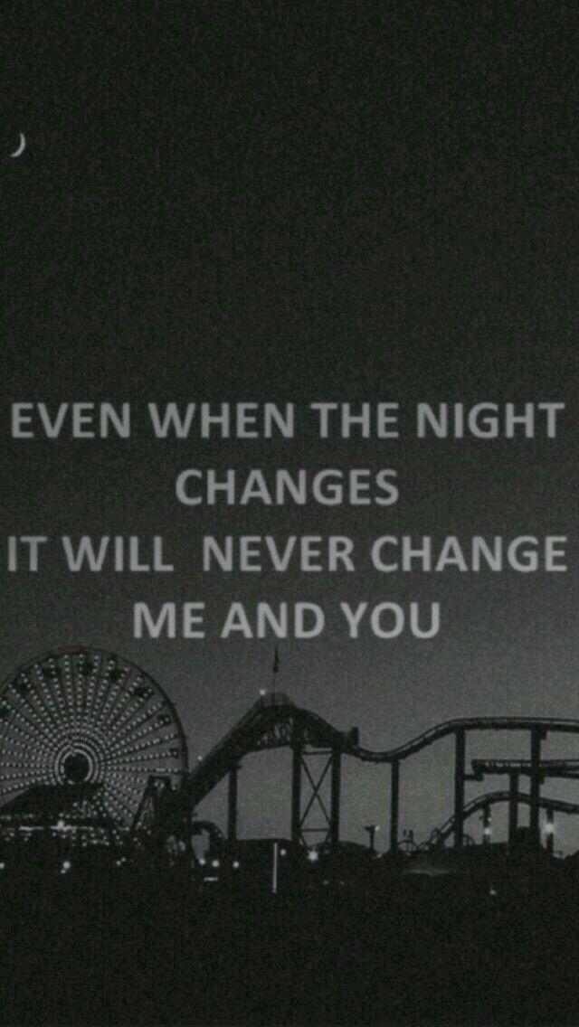 night changes lyrics