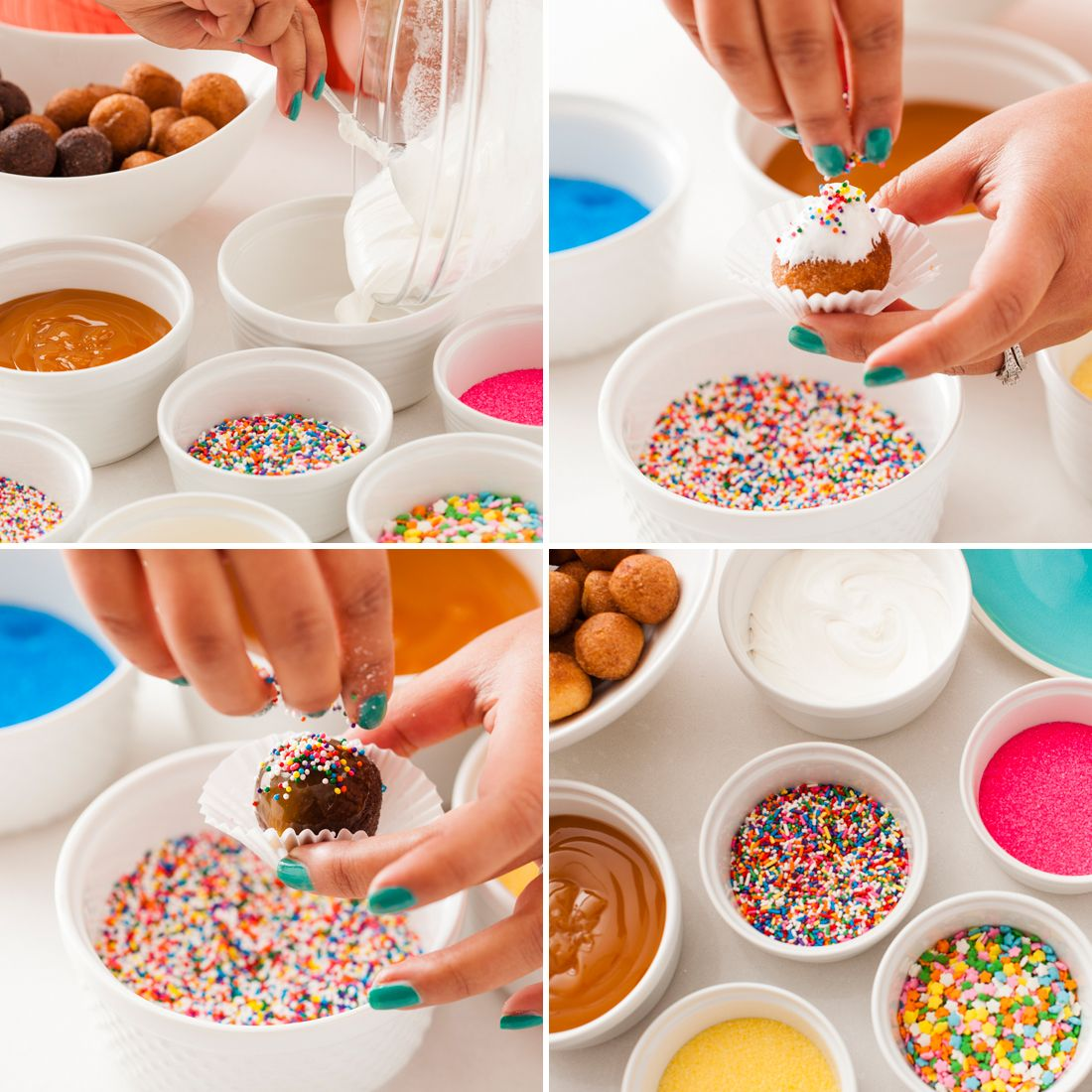 how to use donut hole pan
