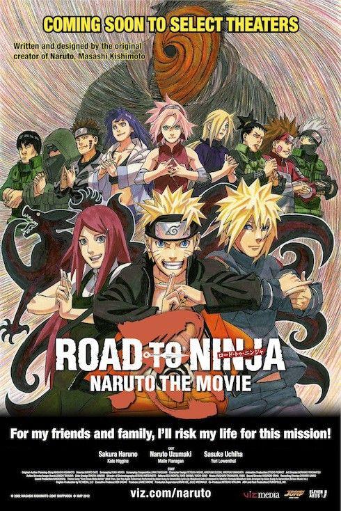 Naruto Movie 6 Road To Ninja Theatrical Give Away Naruto Filme Naruto E Sasuke Desenho Anime Naruto