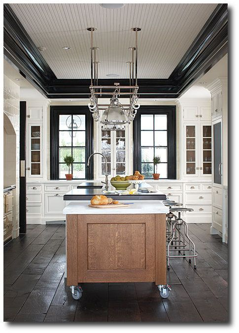 Merveilleux Dalia Kitchen Design, Boston. Love The Black Molding.