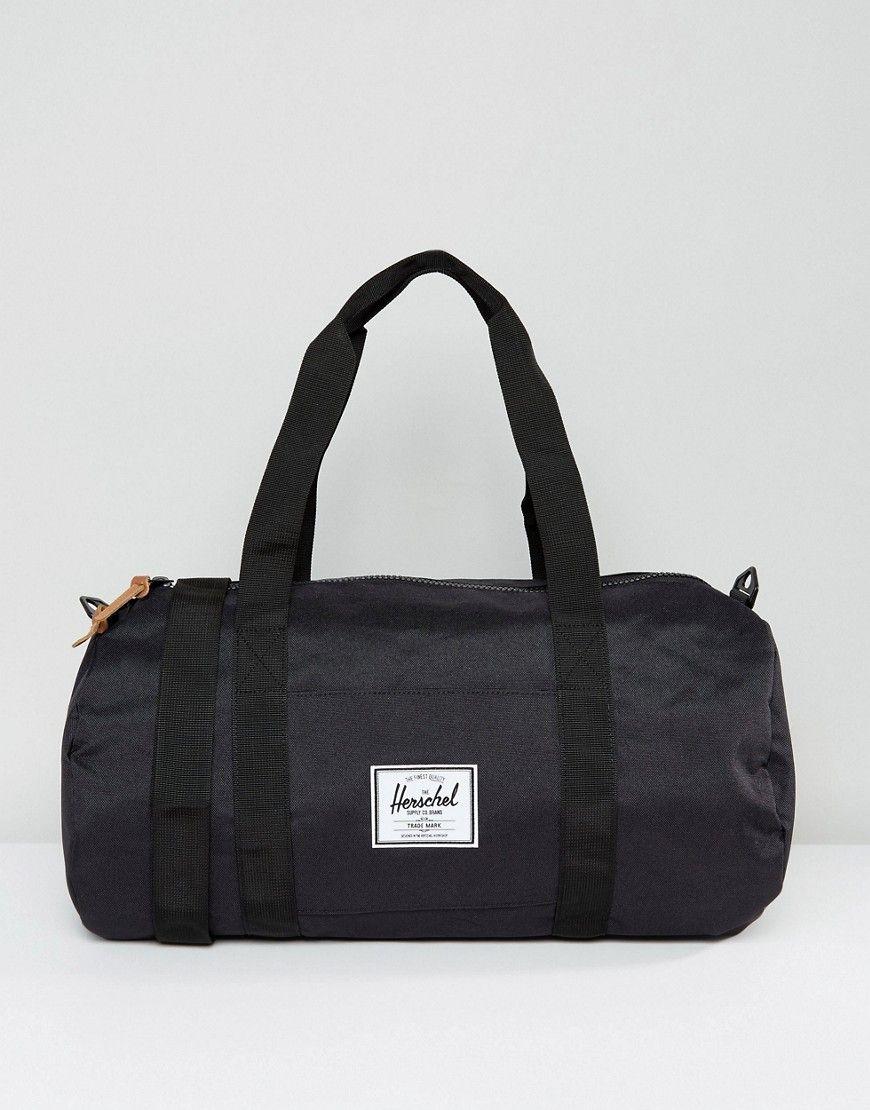 3f75d8ed699 Herschel Supply Co. Sutton Mid Volume Carryall - Black   Essentials ...