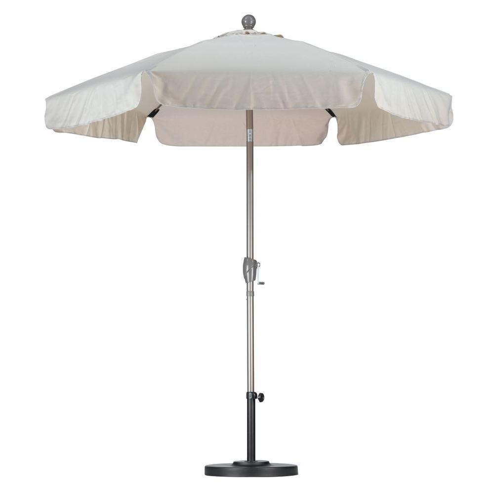 Astella 7 1 2 Ft Fiberglass Push Tilt Patio Umbrella In Antique