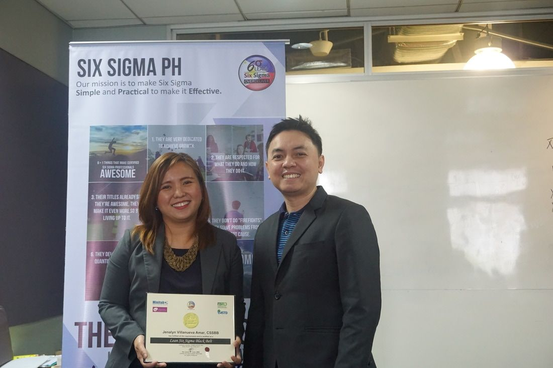 Pin by six sigma philippines on six sigma philippines pinterest om reduces average cycle time from 8 hours to 40 minutes receives black belt certification 1betcityfo Gallery