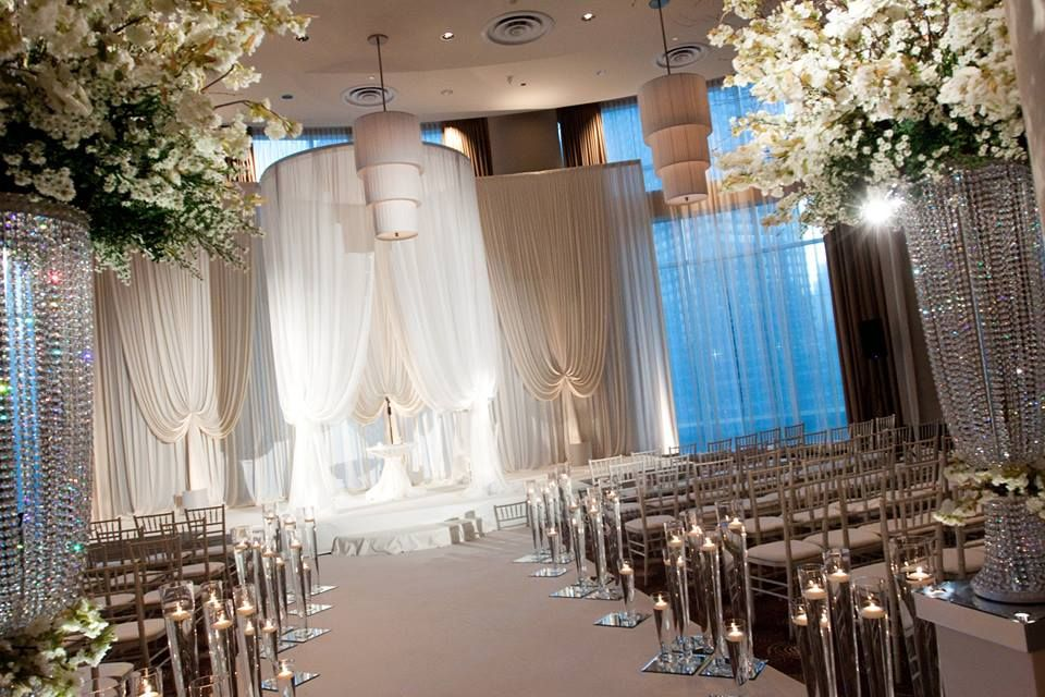wedding decor | Chicago wedding venues, Chicago wedding ...