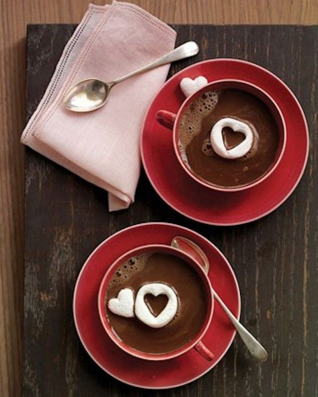 Aren't these marshmallow hearts cute?