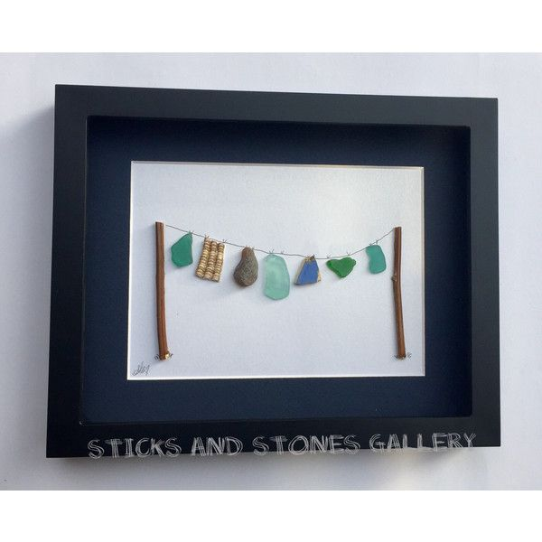 Laundry Room Decor, SticksnStone Pebble Art, Laundry Room Pebble Art,... (135 CAD) via Polyvore featuring home, home decor, handcrafted home decor and handmade home decor