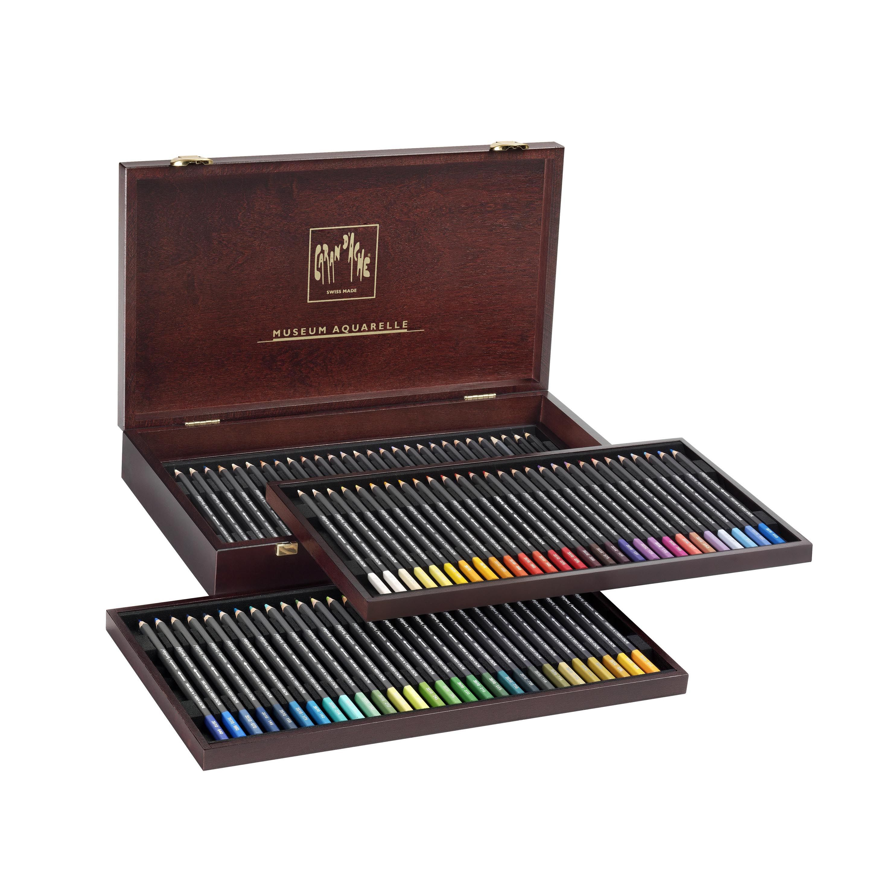 Museum Aquarelle 76 Pencils Gift Box Aquarell Wasserfarben