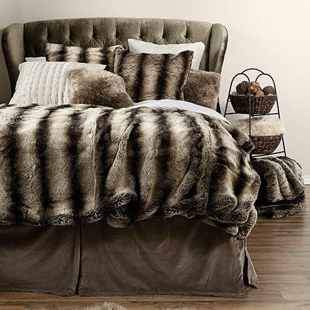 Shop Faux Fur Bedding At Arhaus Comforter Sets Faux Fur Bedding Fur Comforter