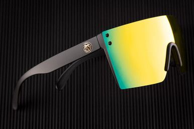 49f8be3946 HeatWave Visual - Lazer Face Sunglasses - Gold Rush Lens in 2019 ...
