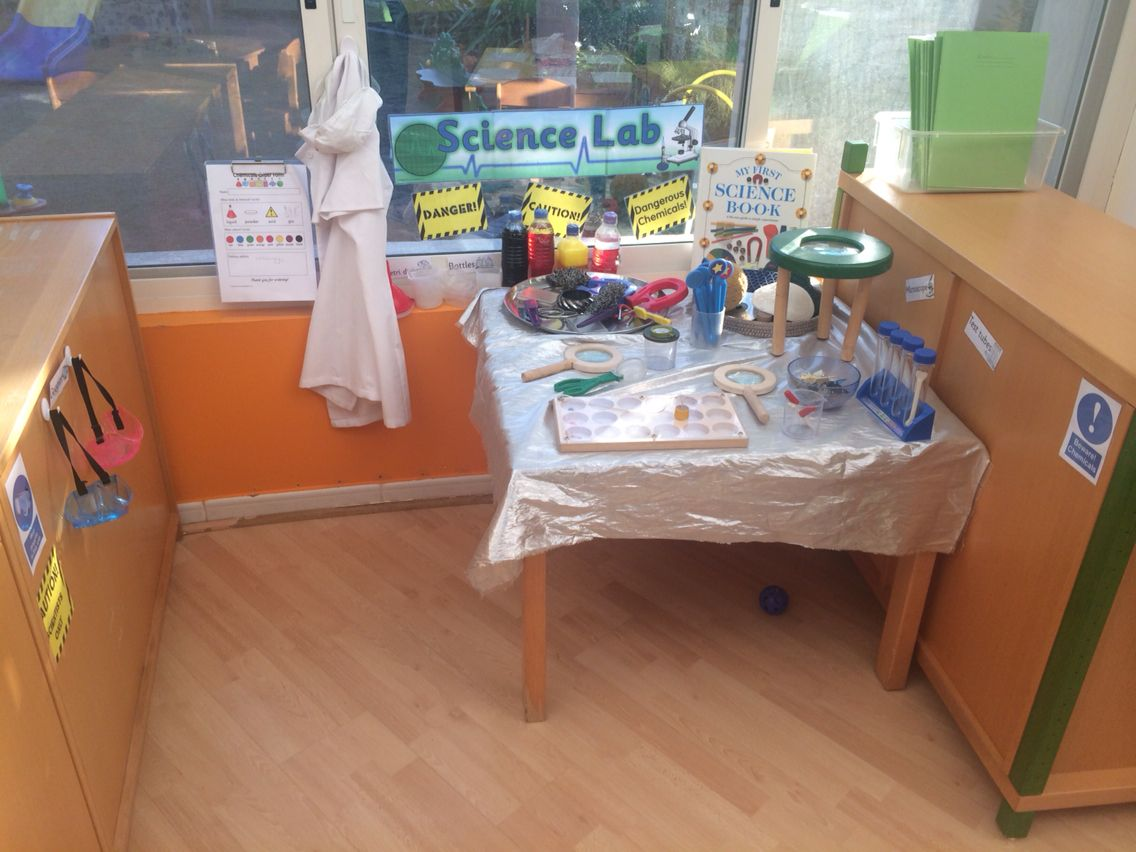 Science Lab Investigation Area Eyfs Role Play Imaginative