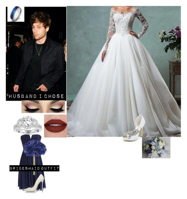 """""""My future wedding day"""" by j-j-fandoms ❤ liked on Polyvore featuring Bliss Diamond, J.Crew, Dsquared2 and West Coast Jewelry"""