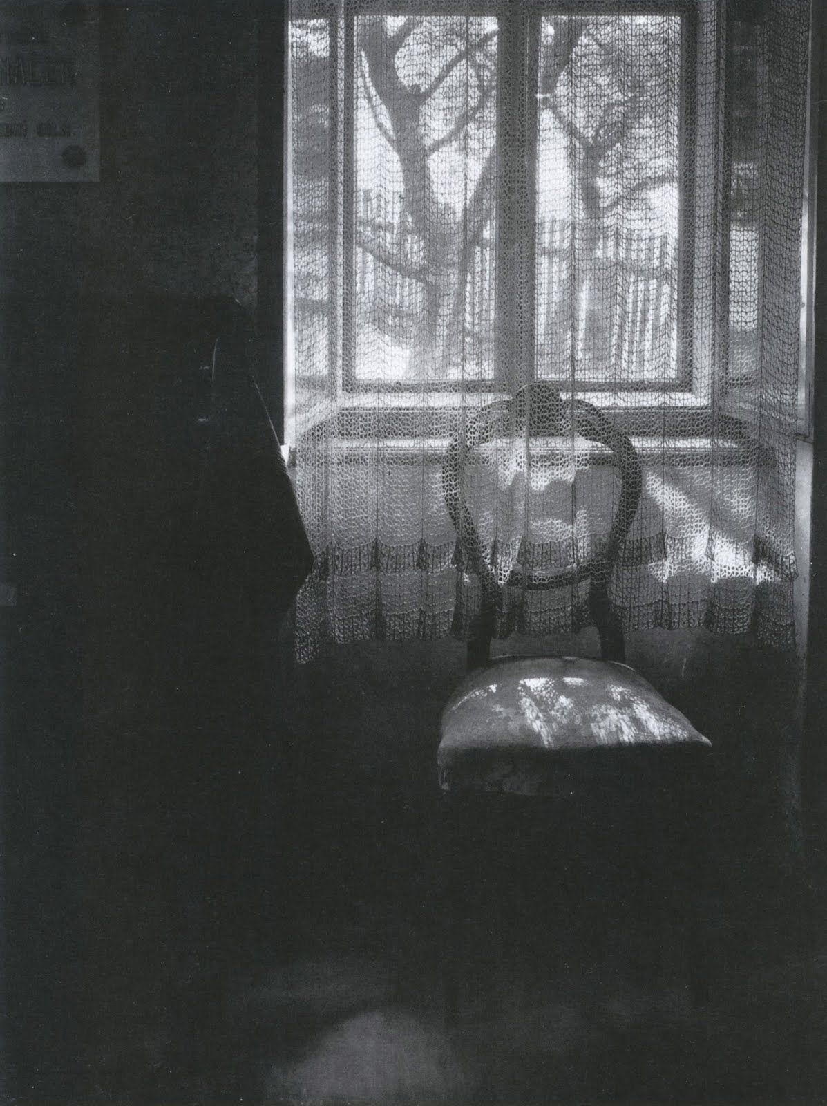 Black and white chair photography - The Interior Prospect Josef Sudek The Window Filter Chair In Janacek S House 1972