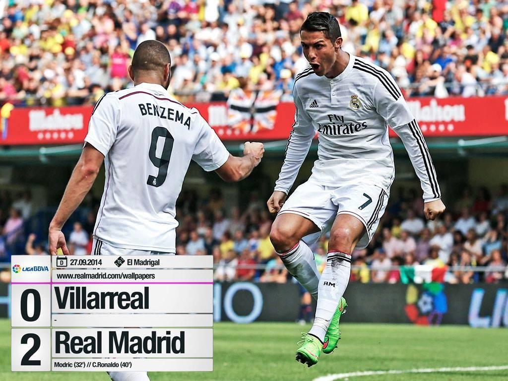 Villareal Real Madrid 02 Real madrid, Ronaldo real