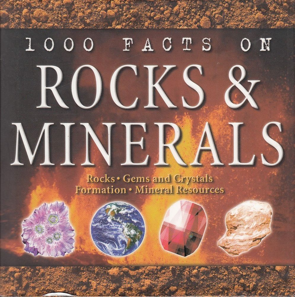 1000 Facts on Rocks & Minerals Chris & Helen Pellant 2005 Gems Crystal Resources