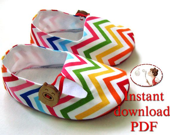 d85acc2a61439 Tutorial and Baby Shoe Pattern - Baby Tulip Loafers - PDF Pattern ...
